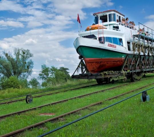 Wizyta studyjna dla informatorów turystycznych Warmii i Mazur Szlakiem Krainy Kanału Elbląskiego